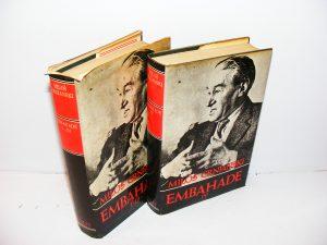 EMBAHADE I-IV Miloš Crnjanski