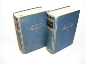 Lav N. Tolstoj RAT I MIR 1-2 komplet