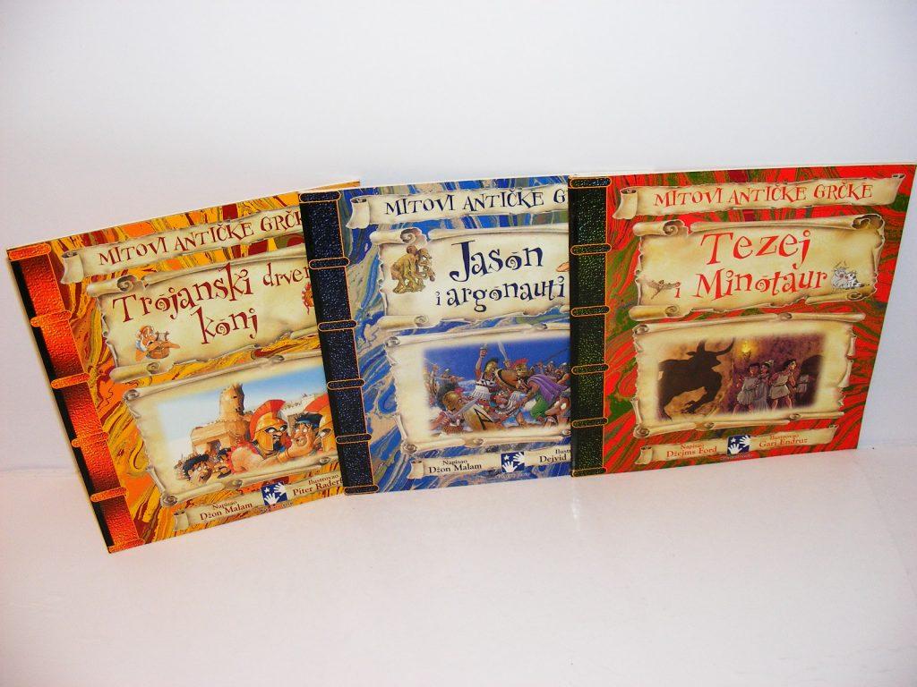 MITOVI ANTIČKE GRČKE 3 knjige