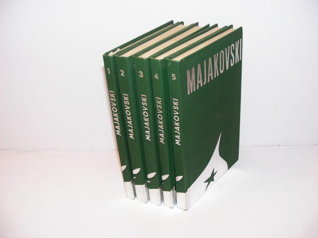 MAJAKOVSKI Izabrana djela 1-5 komplet