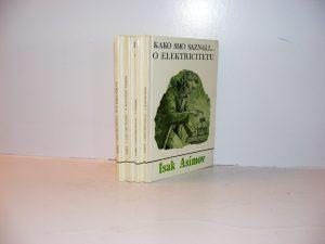Isak Asimov KAKO SMO SAZNALI 1-4 komplet