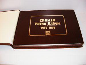 SRBIJA RATNI ALBUM 1914-1918 Andra Popović