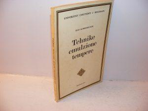 TEHNIKE EMULZIONE TEMPERE Sigo Summerecker