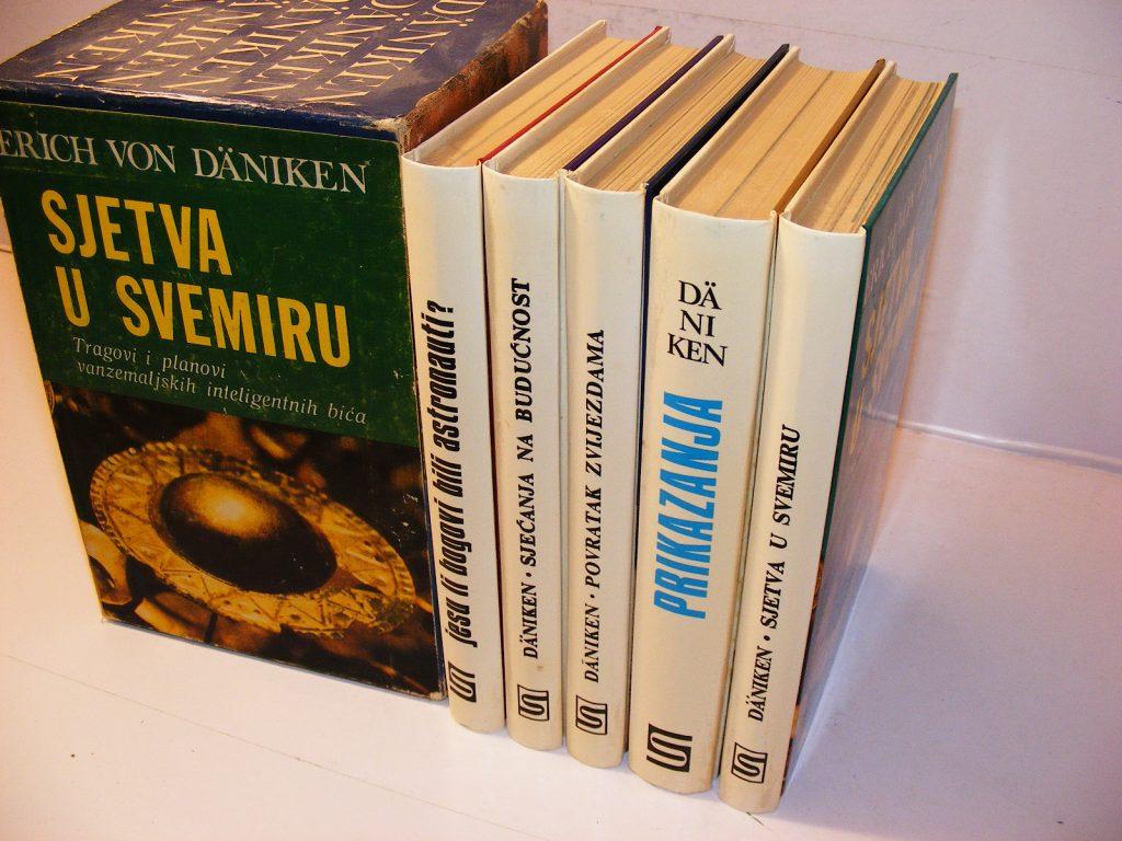 Erih fon Deniken 1-5 komplet kutija, kao NOVO