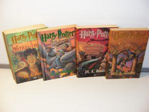 Hari Poter 1-4 Dž.K.Rouling Biblioteka Petar Pan