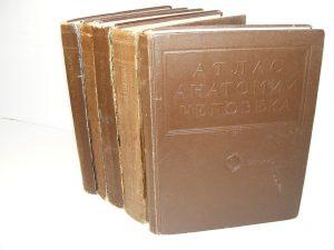 Anatomski atlas čoveka Vorobiev, Sinelnikov 1-5 komplet