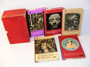 Biblioteka FEMINA 1-5 komplet zaštitna kutija